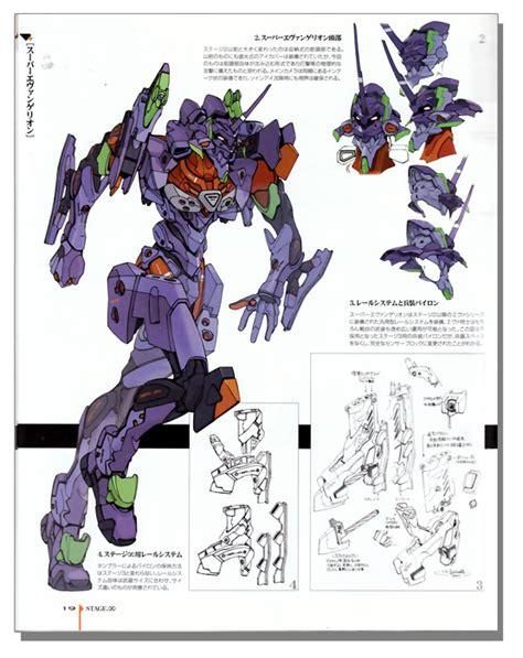 evangelion anima visual art book anime books