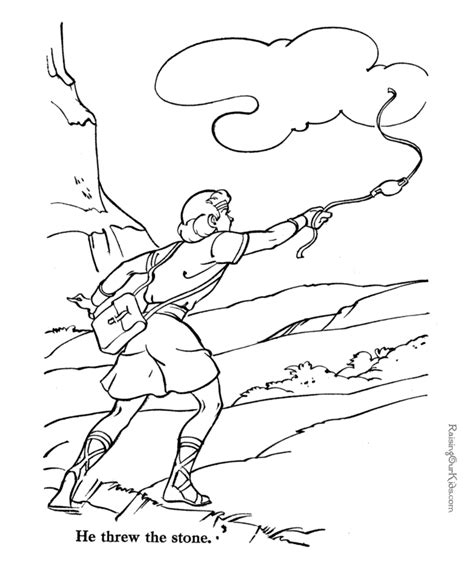 David Bible Coloring Pages Az Coloring Pages Bible David Color Photos