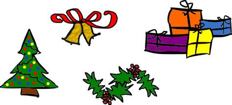 kattekrab christmas motifs clip art at clker com vector