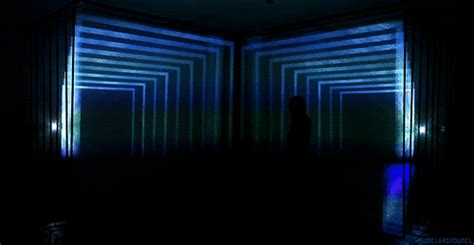These Neon Lights Show gif lights mine alone space blue glow geometric glow in the daydreaming neon