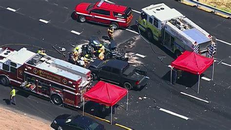dead  multi car crash  virginia police  wjla