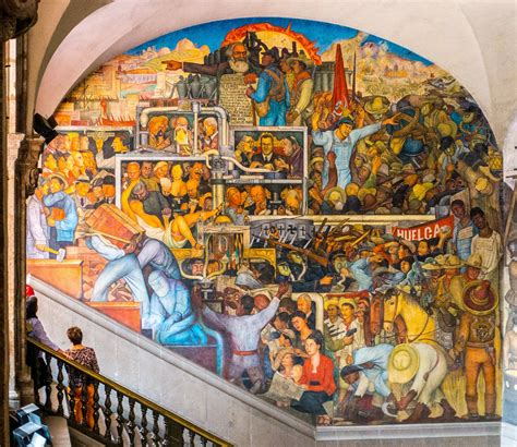Stairway Storage a brief overview of diego rivera s murals in san francisco