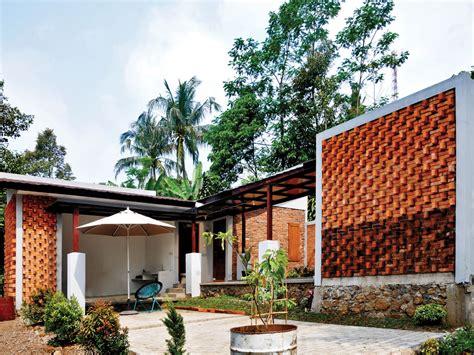 desain rumah batu bata pagar rumah batu bata merah info bisnis properti foto