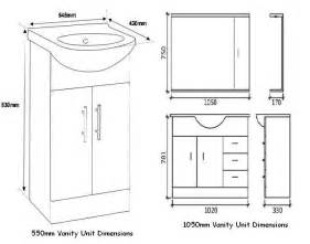Vanities Sizes Bathroom Vanity Dimensions