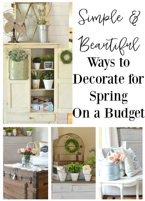 Vintage Home Decor On A Budget Simple Ways Decorate For On A Budget