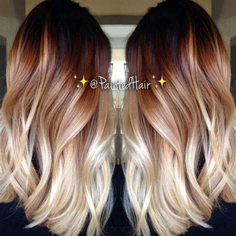 ombre balayage color melt blonde highlights long bob 25 beautiful balayage hairstyles