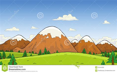 clipart montagna berglandskap vektor illustrationer illustration av rock