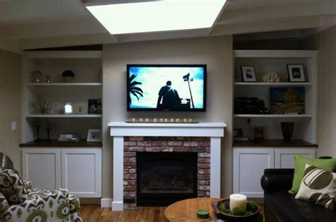 17 best ideas about above tv decor on small