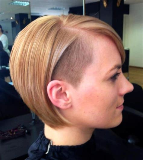 blonde bob undercut undercut bob short and medium hair styles pinterest