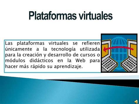plataforma virtual plataformas virtuales tania barba