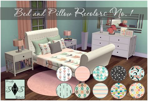 bed pillow sets bed and pillow recolors set onethis is my recolor