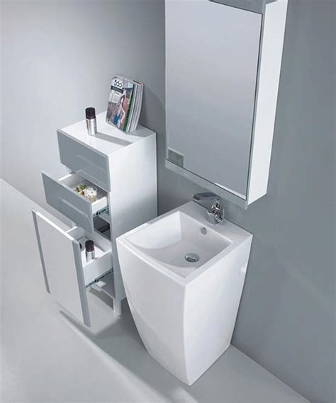 Modern Pedestal Bathroom Sinks Modern Pedestal Sink Altier