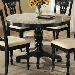 Dining Table Granite Top Hillsdale Embassy Pedestal Table With Granite Top 4808 810 11 Homelement