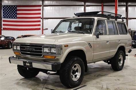 Toyota Land Cruiser 1990 Beige Metallic 1990 Toyota Land Cruiser For Sale Mcg