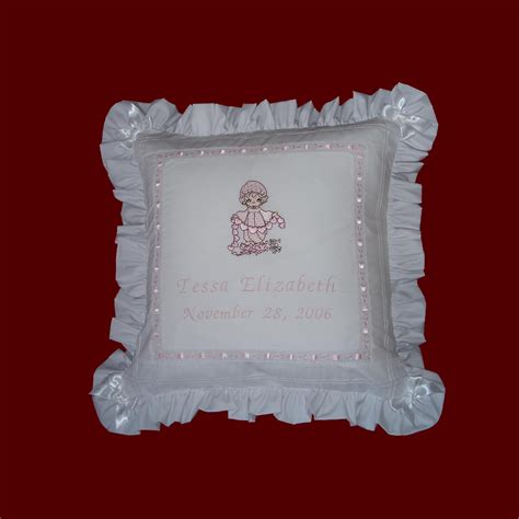 precious moments pillow precious moments personalized pillow baby gift items