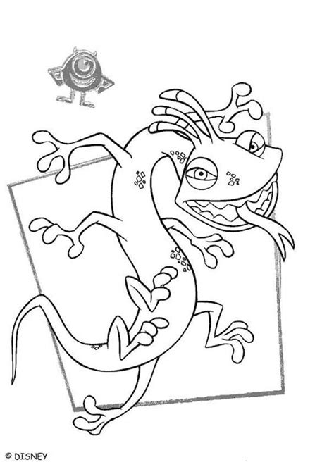 monsters inc coloring pages randall monsters inc coloring pages randall 1