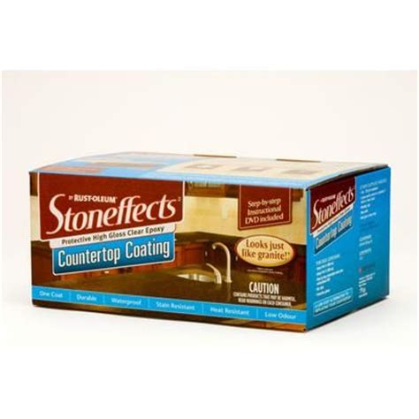 home depot paint canada rust oleum stoneffects countertop coating kit n5305150