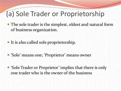 sole proprietorship is the simplest form basics of business