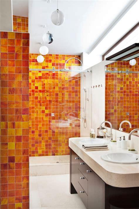 Tiling Backsplash In Kitchen 18 ba 241 os decorados en naranja