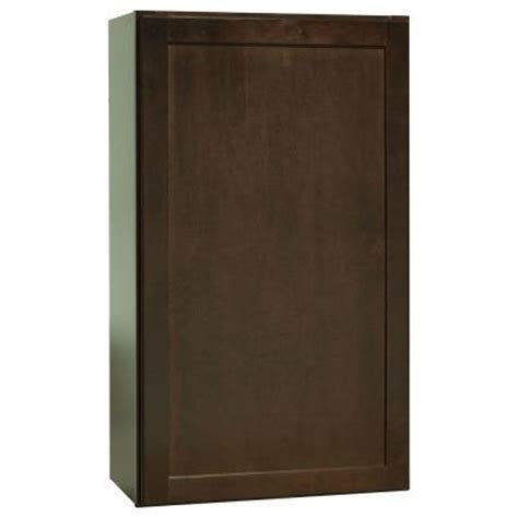 hton bay assembled 21x36x12 in shaker wall cabinet in