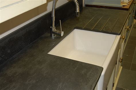Slate Kitchen Worktops by Photographs Of Slate Kitchen Worktops Work Surfaces Sink