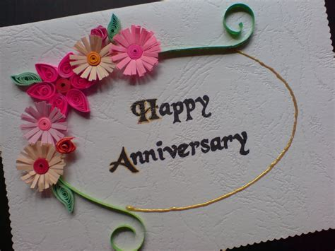 Handmade Anniversary Cards For Parents - anniversary greeting cards for your lover parents or