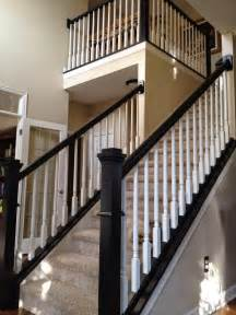 Black Balusters Decor You Adore Step Up Your Staircase