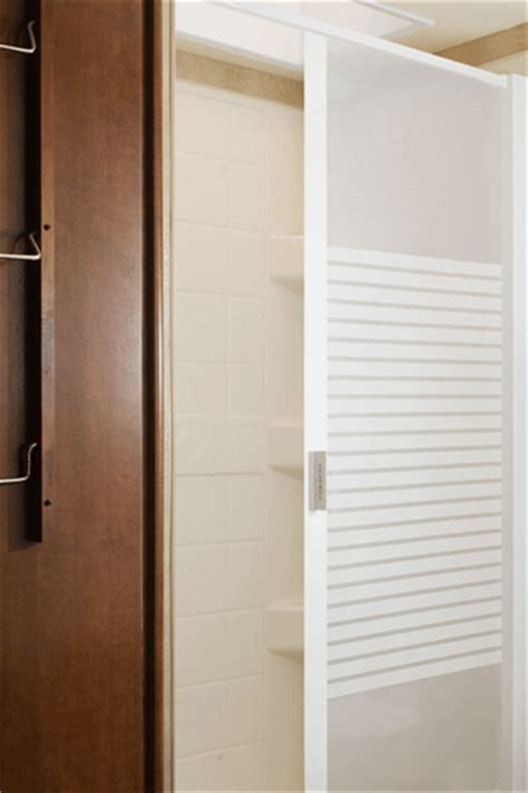 Retractable Shower Door Stoett Industries Retractable Shower Door Frosted Panel 57 Quot Hx48 Quot W White Trim