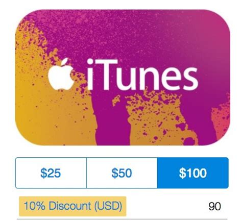 10 Off Itunes Gift Card - paypal offering 10 off itunes gift cards through holidays mac rumors