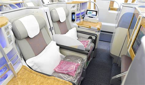 emirates seat first look at emirates s new business class seats on