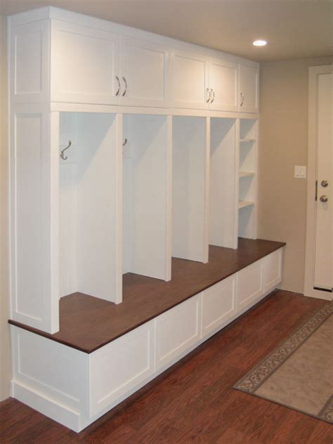 mudroom lockers with bench mudroom designs convensional mudroom bench orange wall