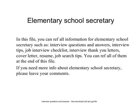 thank you letter after elementary school elementary school