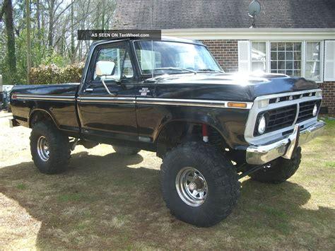 ford truck 1973 1973 swb 4x4 truck