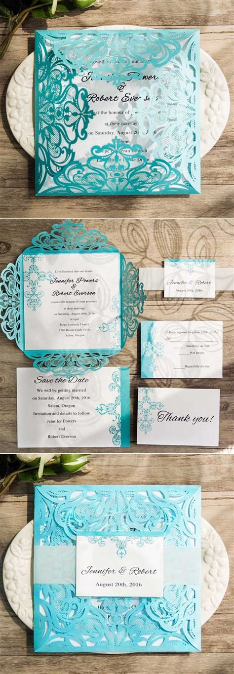 blue themed wedding invitations awesome ideas for your blue themed wedding