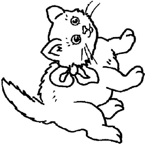 coloring pages of colored cats kitten color page az coloring pages