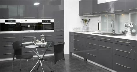 Grey Kitchens Ideas by Charcoal Grey