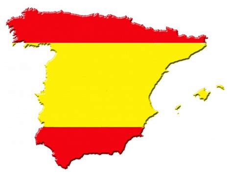 Home Decoration Stickers by Spanish Flag Colors Sticker Creative Spain Map Shape
