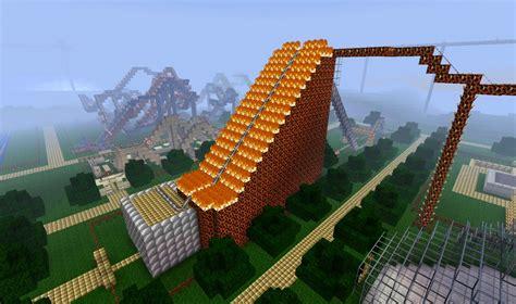 theme park minecraft gigantic theme park minecraft project