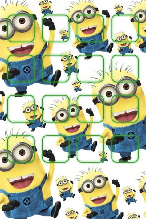 minion pattern lock screen 17 best images about wallpaper on pinterest iphone 4s