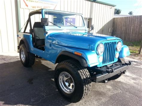 Jeeps For Sale In Orlando Jeeps For Sale Orlando Cj Cj7 Cj8 Scrambler Wrangler Yj Tj