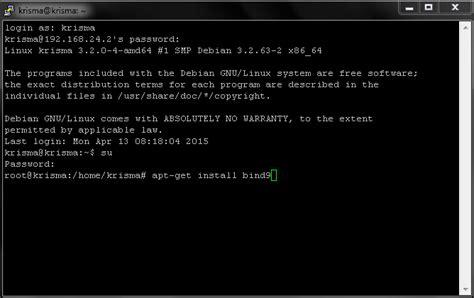 cara konfigurasi dns server debian 7 langkah langkah konfigurasi dns server di debian 7 galih