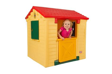 tikes deluxe home and garden playhouse play house