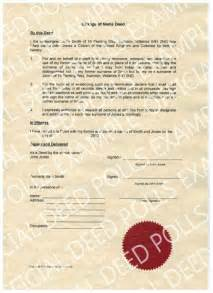 child deed poll template official deed polls legally change your name by deed poll