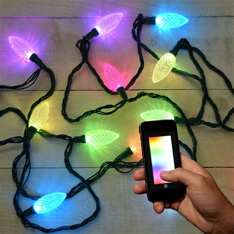 app controlled string lights lumenplay app enabled lights