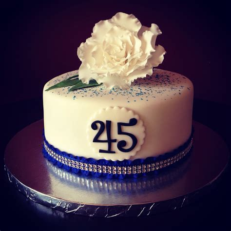 45Th Anniversary Cakes