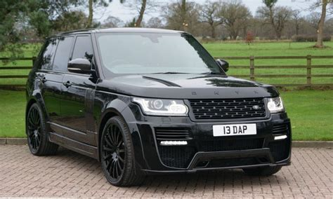 range rover concept used land rover range rover onyx concept vogue 3 0tdv6