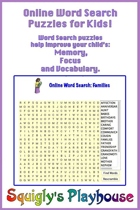 Free Search 75 Best Crossword Word Searches And Other Word Puzzles