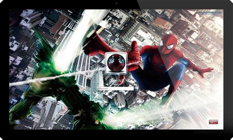 download themes for windows 7 spiderman the amazing spider man 2 theme for windows 7 and windows 8
