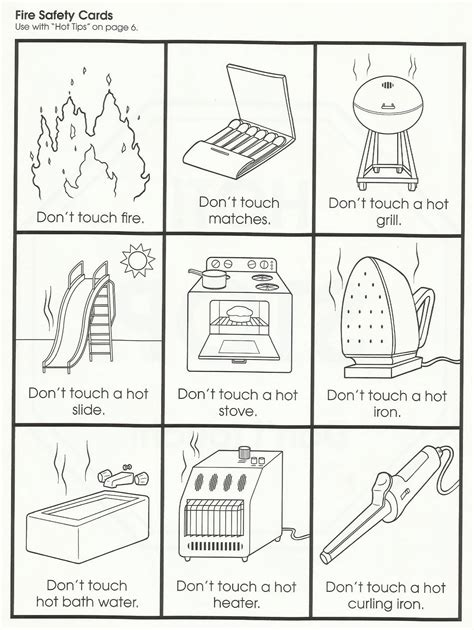 Home Safety Worksheets For by Home Safety Worksheets Worksheets