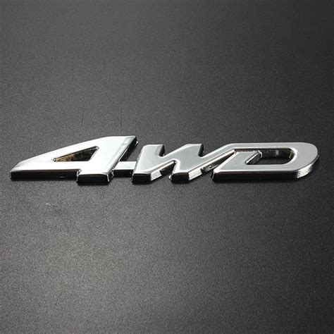 3d Aufkleber Auto Entfernen by G 252 Nstig Kaufen Auto Chrom Metall 3d Klebe 4wd Aufkleber